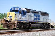 Rare CSX YN1 SD45