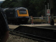 Class 43 leaving