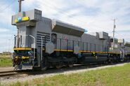 EMD SD70ACs 2