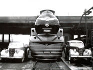 PRR K4s two cars Streamlined