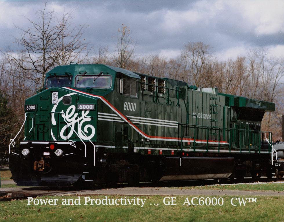 GE AC6000CW   Locomotive Wiki   FANDOM powered by Wikia