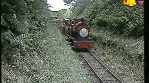 Peter Sam on the Talyllyn Railway