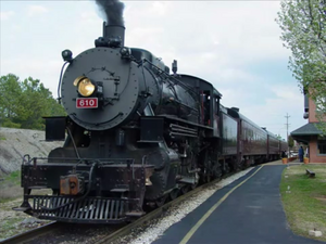 Tennessee Valley Railroad 610