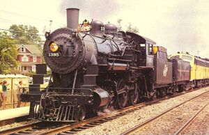 CHICAGO AND NORTH WESTERN STEAM ENGINE