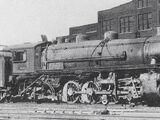 Louisville & Nashville Railroad J-1 and J-2 class 2-8-2s