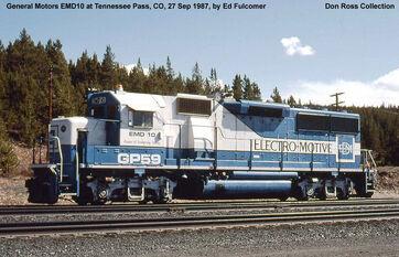 EMD GP59 Demonstrator