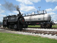 Jeddo coal 85 on rails