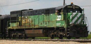 GE U30C BN 5383
