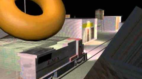 3DS Max LMX B39-8 Ghetto Street Running