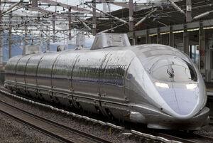 500 Series Shinkansen V6 Shin-Kurashiki 2012