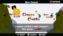 LocoRoco Minigames