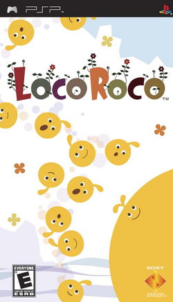 LocoRoco US Cover
