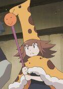 Giraffe-tan
