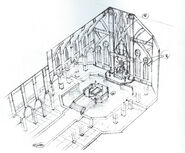 Cathedral interior settings book