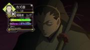 Kazu status screen