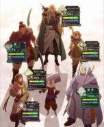 Raid party 3 anime