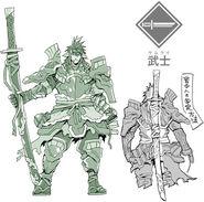 Trpg samurai