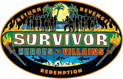 Survivor - Heroes vs Villains logo