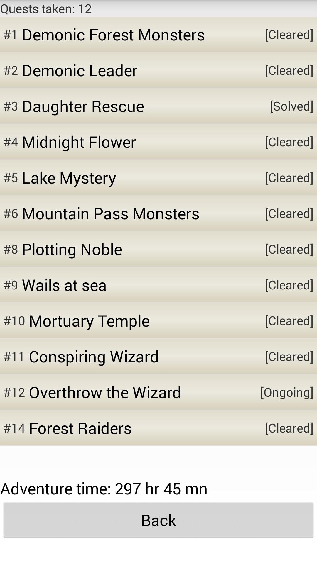 Quest | Logging Quest 2 Wiki | FANDOM powered by Wikia