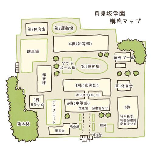 Map tsukimizaka