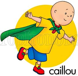 Caillou Iron On Transfer TopIronOns 002