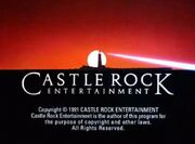Castle Rock Entertainment Television 1991