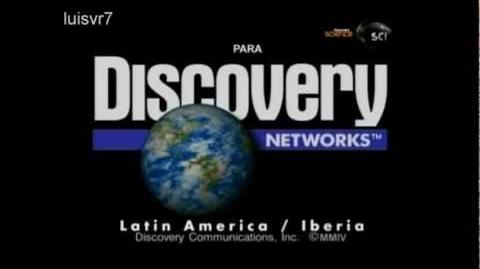 Discovery Discovery Networks ID Identificador Latino América Iberia 1995 - 2005
