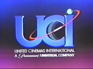 UCI Cinemas 1989-1993 Logo
