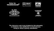 Stanley The Little Dragon 1996 MPAA Credits