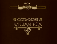 FOX Film logo 1927