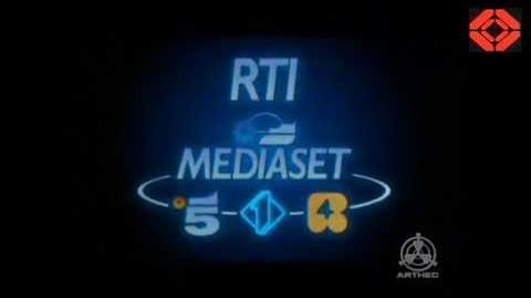 Bumper Ident Mediaset RTI dal 1980 al 2016