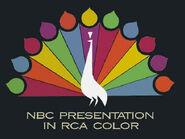 Peacock NBC presentation in RCA color