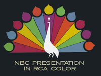 Peacock NBC presentation in RCA color