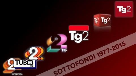Sottofondi titoli Tg2 dal 1977 al 2016