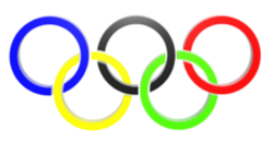 Olympics logo 3D