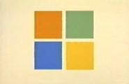 Microsoft 1995 advertised logo
