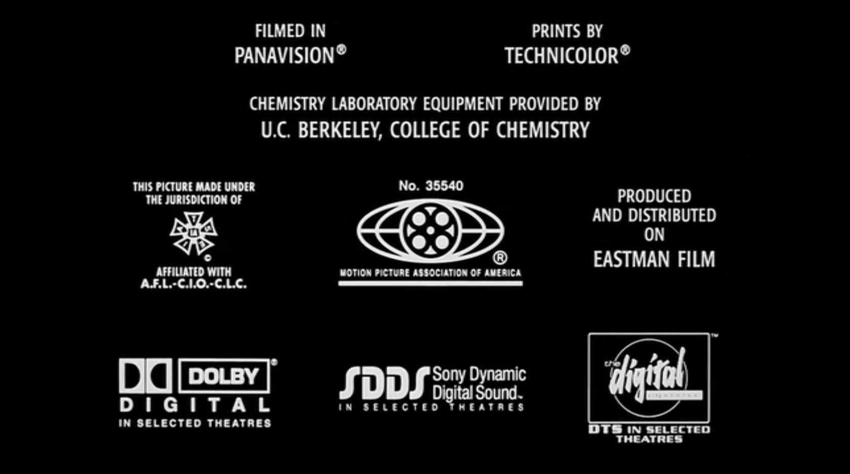 Prints By Deluxe Credits: Sony Dynamic Digital Sound/Other