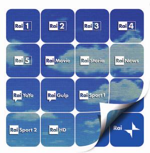 Rai new logos 2010