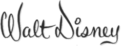 Walt Disney logo 1959