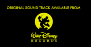 Walt Disney Records (Summer Belongs Movie Varanet)