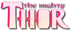 The Mighty Thor (2015) logo1