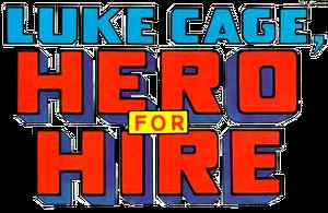 Luke Cage, Hero for Hire (1972) logo