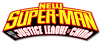 New Super-Man and the Justice League of China (2018) logo