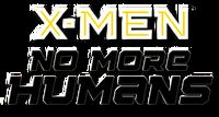 X-Men No More Humans (2014) logo