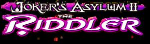 Joker's Asylum II The Riddler logo