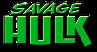 Savage Hulk (2014) logo