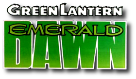 Green Lantern- Emerald Dawn (1989) logo