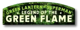 Green Lantern Superman Legend of the Green Flame (2000) logo