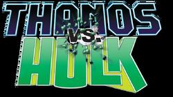 Thanos vs Hulk (2014) logo