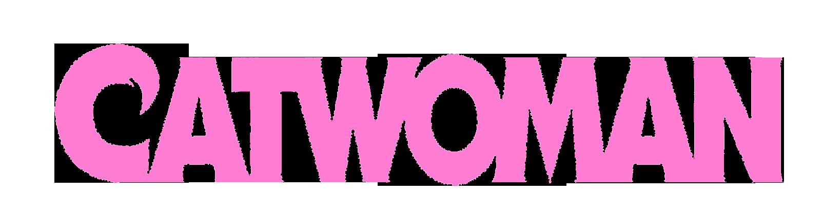 Catwoman Logo Hot Pink Copy